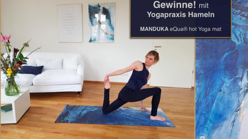 Motivationskick für deinen Frühling! GEWINNE mit Yogapraxis Hameln eine eQua® Hot Yoga Mat